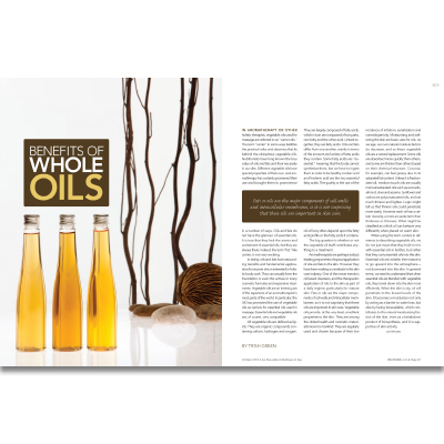 The Benefits of Whole Oils